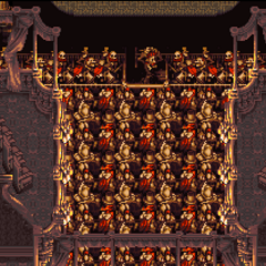 The Opera House orchestra (SNES).