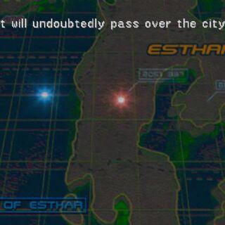 Esthar City on map.