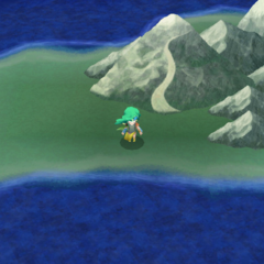 Mount Hobs on the overworld - west side (PC).