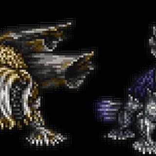 <i>FFXIII</i> version, alongside Jabberwocky.
