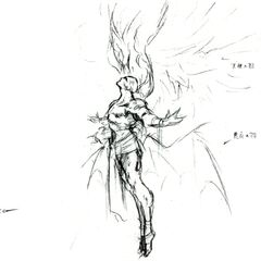 Final Kefka concept art.