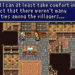 Mayor of Thamasa after the battle (GBA).