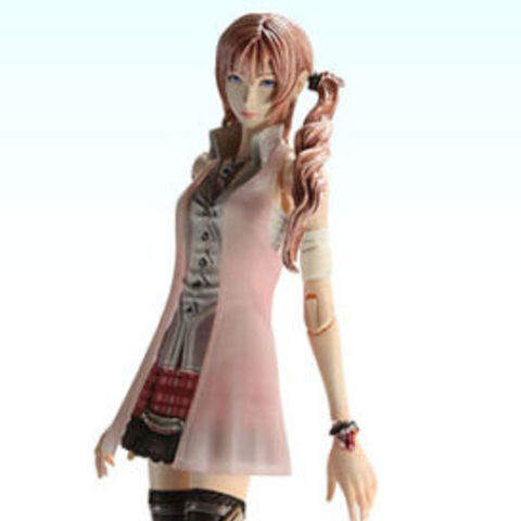 Serah's <i>Final Fantasy XIII</i> Play Arts KAI figure.