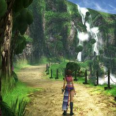 Besaid waterfalls.