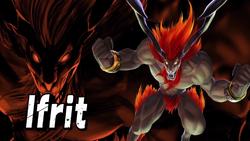Ifrit Smash Bros Splash Card