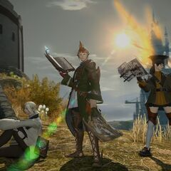 Arcanist, Summoner, and Scholar in the gameplay trailer.