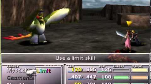 Final Fantasy VII - Seal Evil Limit Break