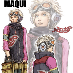 Artwork of Maqui.