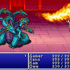 Blaze in the <i>Advance</i> version.