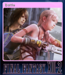 FFXIII-2 Steam Card Battle