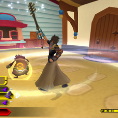 <i>Kingdom Hearts: Birth by Sleep</i>.