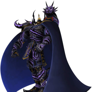 Golbez fused with Shadow Dragon from <i>Dissidia Final Fantasy</i>.