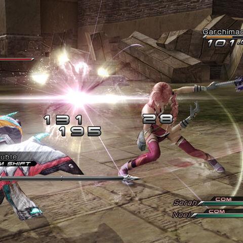 Garchimacera in battle.