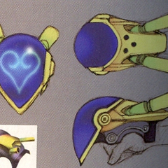 Concept art of Premium Heart.