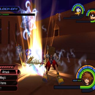 Rough Divide in <i>Kingdom Hearts</i>.