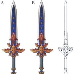 Concept artwork for the Ultima Sword.
