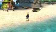 Besaid beach