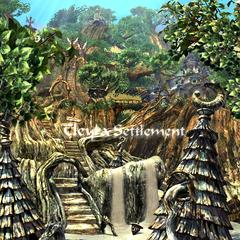 Cleya Settlement entrance.