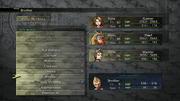 FFX-2 HD Party Members Menu