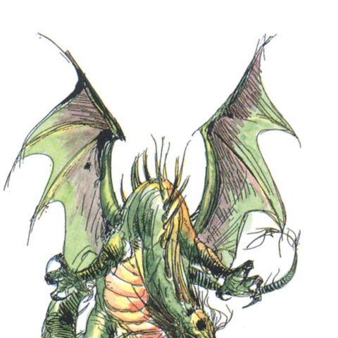 Alternate colored artwork by Yoshitaka Amano.