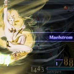 Barbariccia using Maelstrom when called in <i><a href=