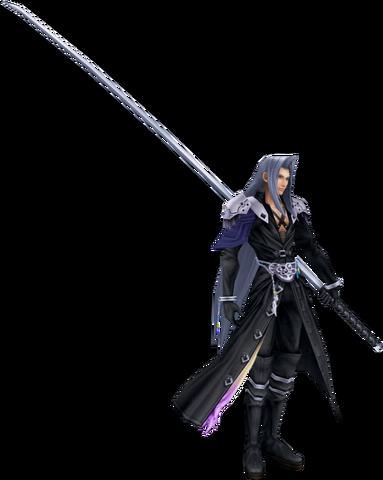 File:Dissidia Sephiroth Default Costume CG.png
