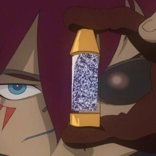 Kaze using Soul Gun Metal to charge the Magun.