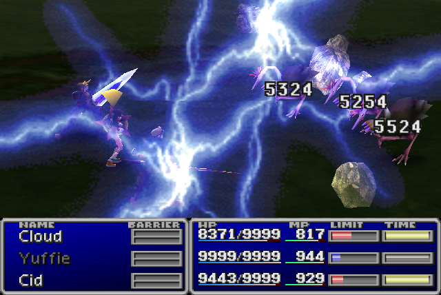 File:FFVII Bolt3 All.png