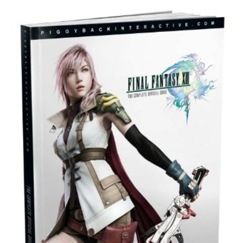 <i>FINAL FANTASY® XIII - THE COMPLETE OFFICIAL GUIDE</i>.