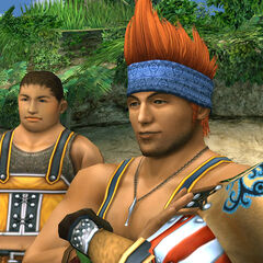 Wakka's new model.