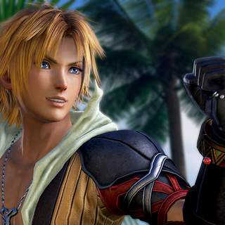 <i>Dissidia Final Fantasy</i> (2015) presentation screenshot.