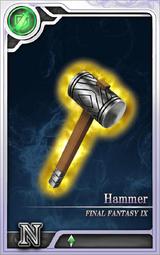 FF9 Hammer N Artniks
