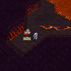 Kokkol's Forge on the world map (PSP).