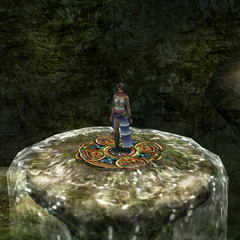 The elevator in <i>Final Fantasy X-2</i>.