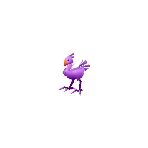 Purple chocobo.