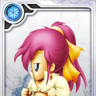 Faris's Dancer card (N rarity).