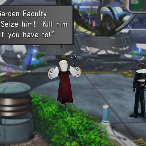 Garden Faculty go on a revolt.