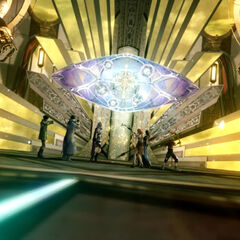 Etro's gate in the Narthex in <i>Final Fantasy XIII</i>.