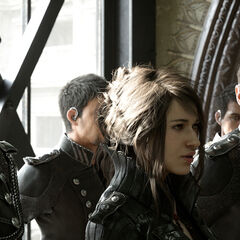 The members of the Kingsglaive.