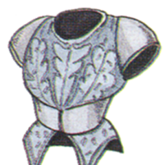 Official art of Mythril Armor from <i>Final Fantasy III</i>.