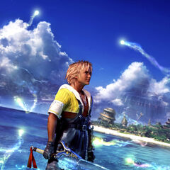Promotional artwork of Tidus.