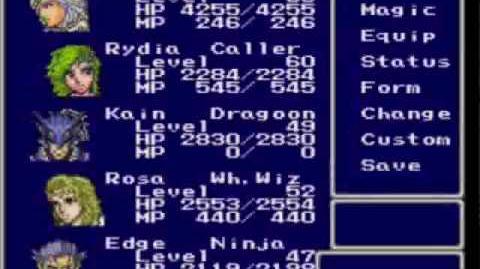 FFIV Minisode Episode 4 - Infinite Weapons Glitches