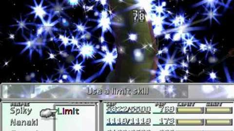 FFVII Limit Break Compilation - Nanaki's Stardust Ray