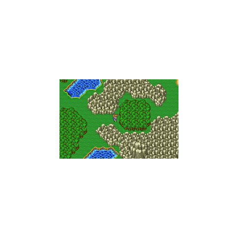 Entrance on the world map (GBA).