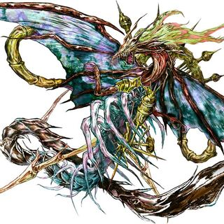 Artwork of Shinryu Ω.