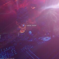 Nael Deus Darnus's Megaflare in <i><a href=