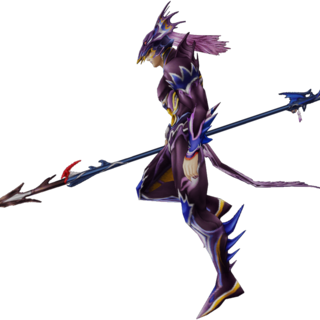 Render of Kain's in-game appearance.