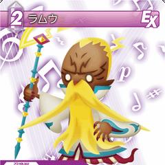 Trading card of Ramuh from <i>Theatrhythm Final Fantasy</i>.