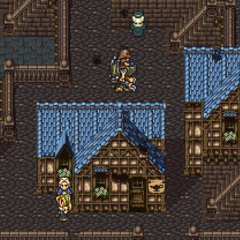 Tzen in the World of Ruin (SNES).