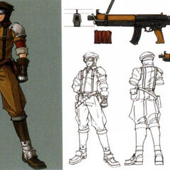 Concept art of AVALANCHE members in <i><a href=